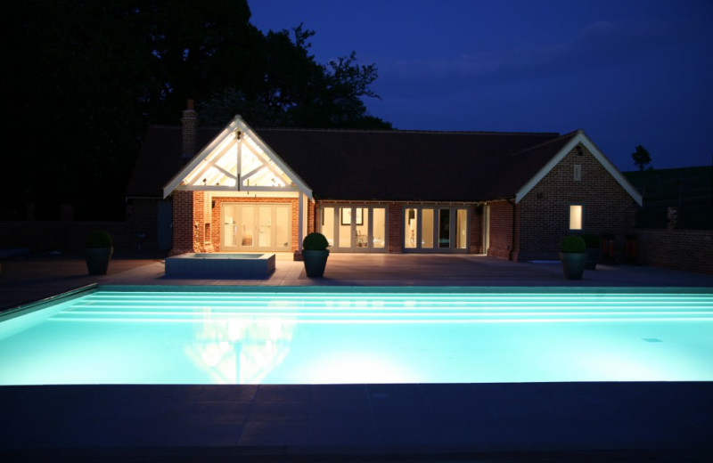 Outdoor pool at Maison Talbooth.