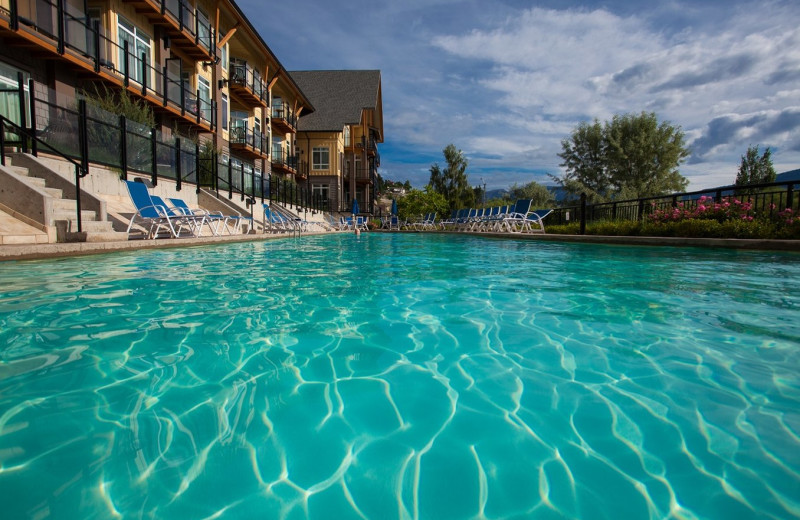 Outdoor pool at Summerland Waterfront Resort.
