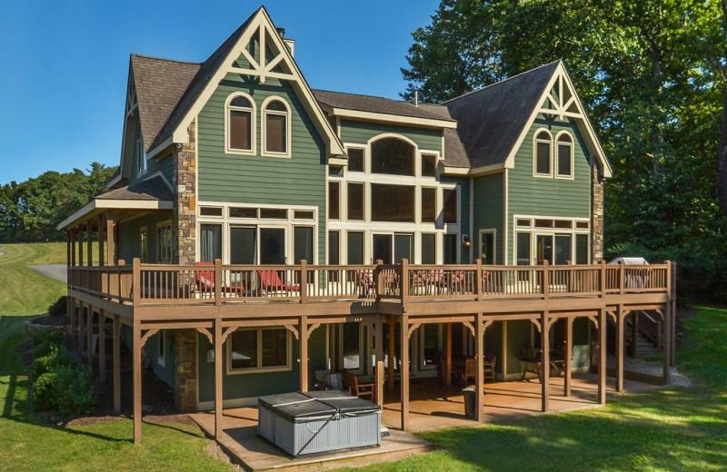 Rental exterior at Taylor-Made Deep Creek Vacations.