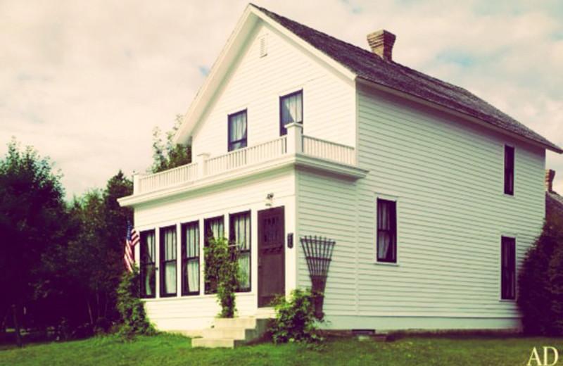 Judy Garland's childhood home near Thunder Lake Lodge.