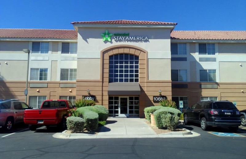 Exterior view of Extended Stay Deluxe Phoenix - Scottsdale.