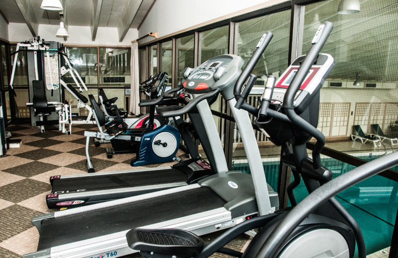 Fitness room at The Margate on Winnipesaukee.