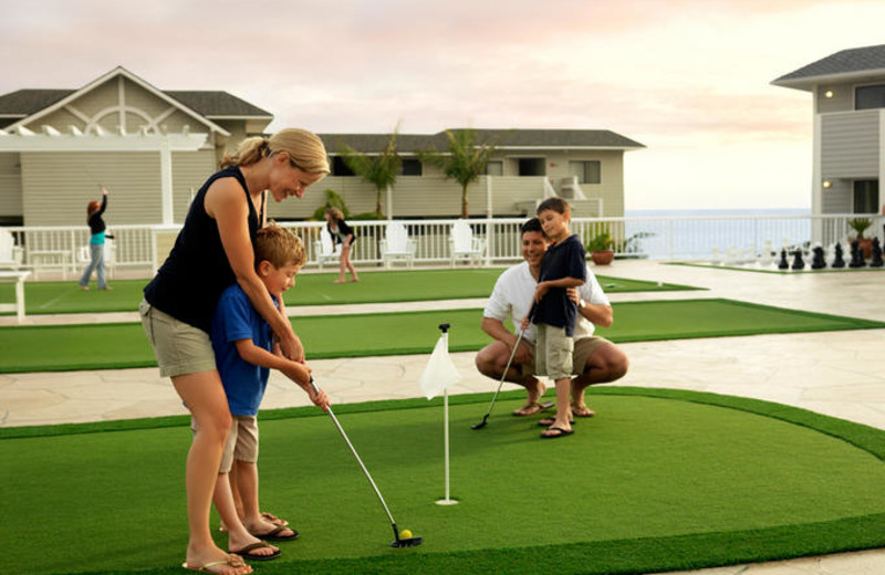 Mini-golf at Pismo Lighthouse Suites