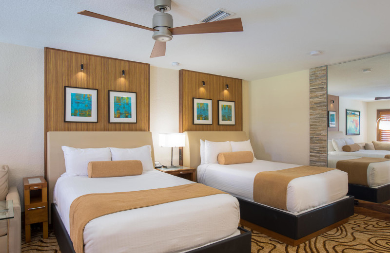 Guest room at Villas of Grand Cypress.