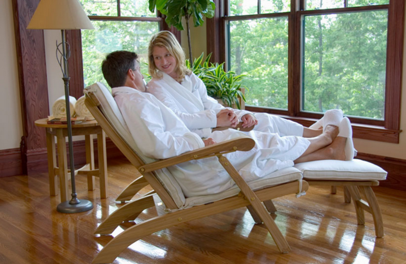 Relax at Mohonk Mountain House