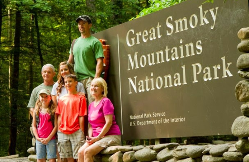 Family at Mountain Shadows Resort.