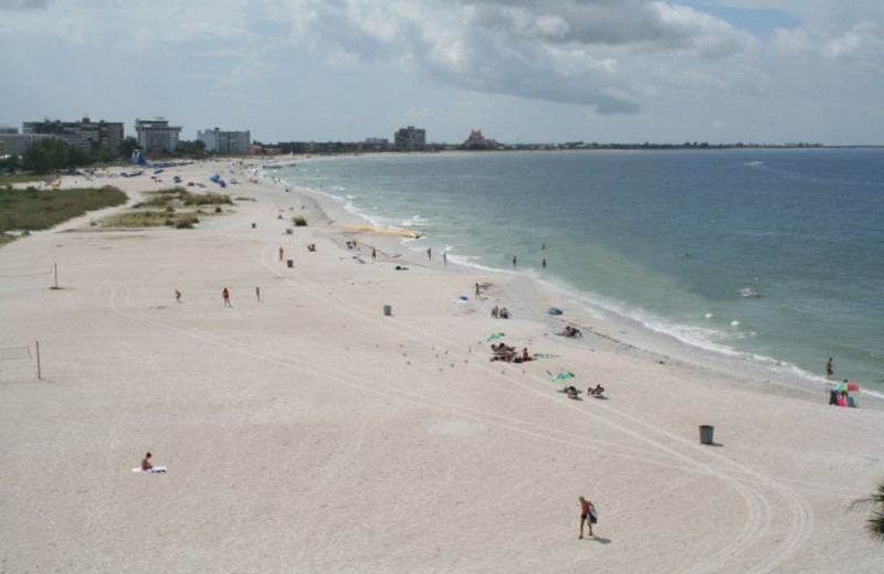 Beach shoreline at Liberte Management Group.