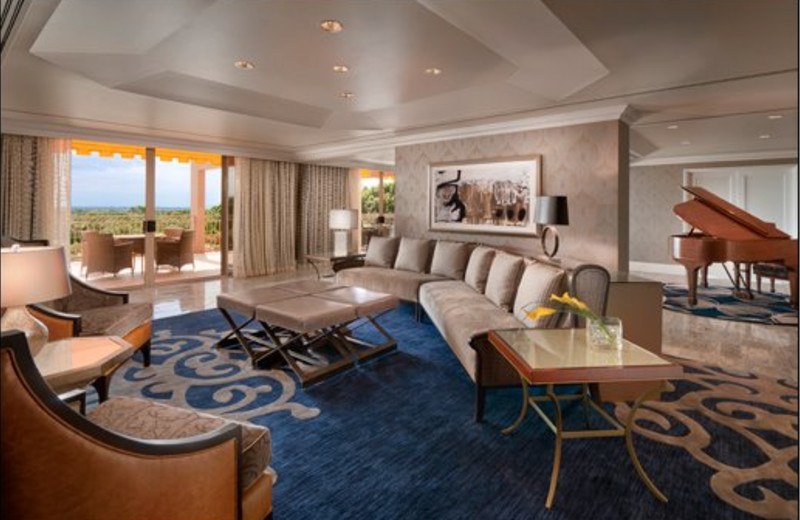 Presidential Suite, Parlor at The Phoenician