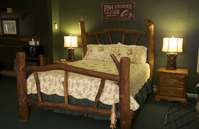 Guest Room at East Shore Lodging