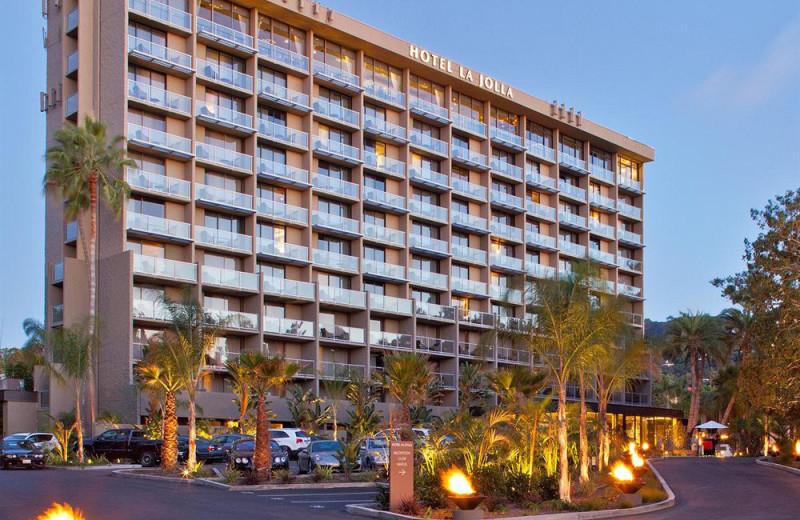 Exterior view of Hotel La Jolla at the Shores.