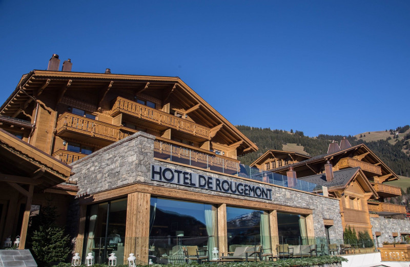 Exterior view of Hotel Rougemont.