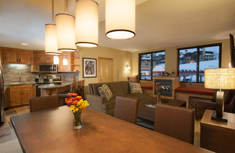 Guest living room at Grand Summit.