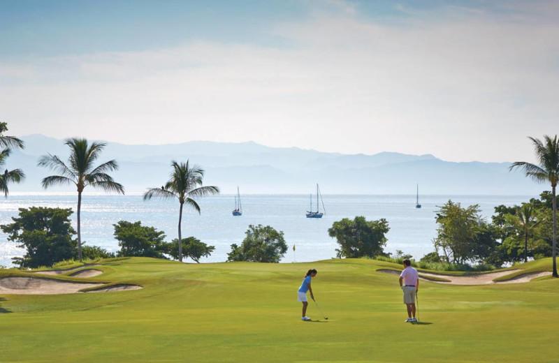 Golf course at Four Seasons Resort Punta Mita.