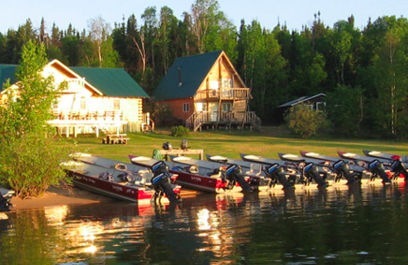 Exterior view of Lawrence Bay Lodge.