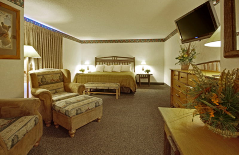 Suite Interior at Kelly Inn West Yellowstone Hotel