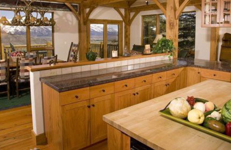 Rental Kitchen at Spring Creek Ranch