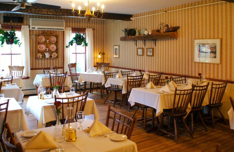 Dining at Echo Lake Inn.