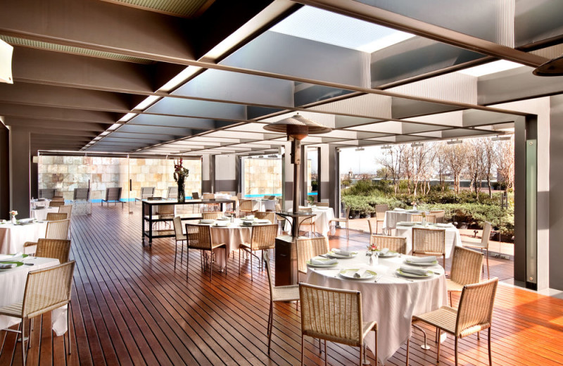 Dining at Hilton Mexico City Reforma.