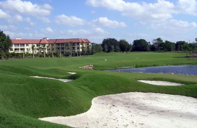 Golf course near Vista Cay Inn.