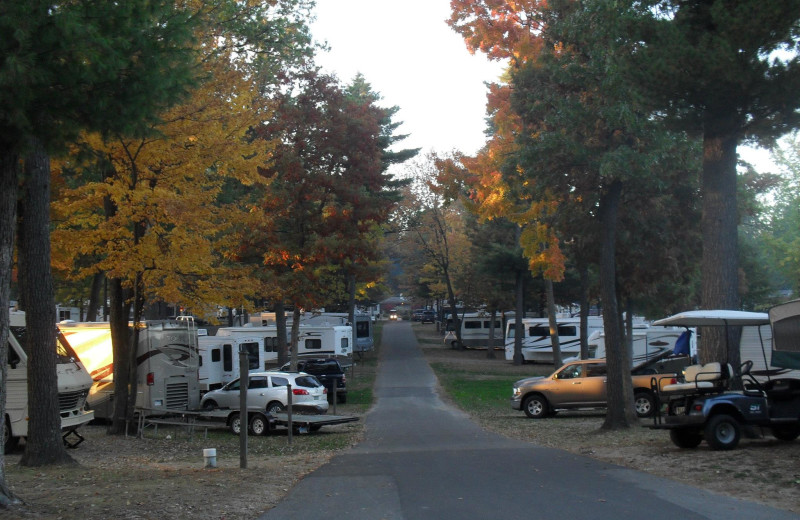 RV campground at Warrens Lodging.