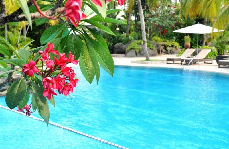 Outdoor pool at Grand Hyatt Jakarta.