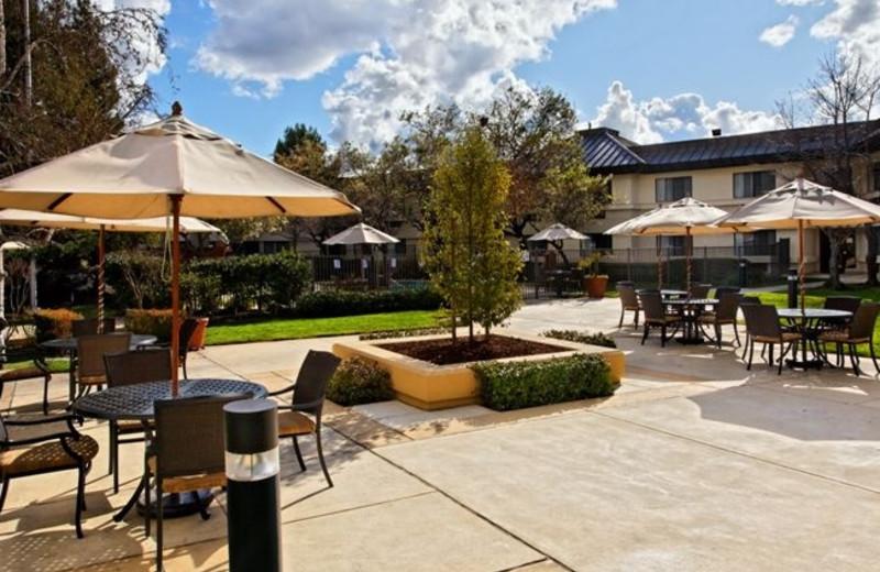 Outdoor Courtyard at Holiday Inn Express Walnut Creek