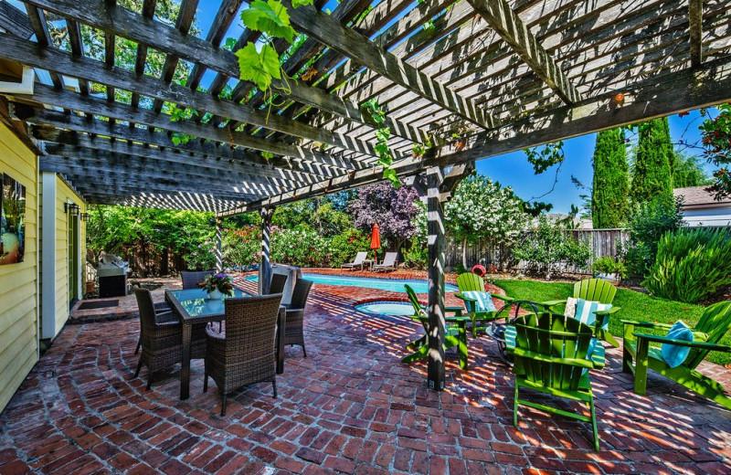 Rental patio at Woodfield Properties.
