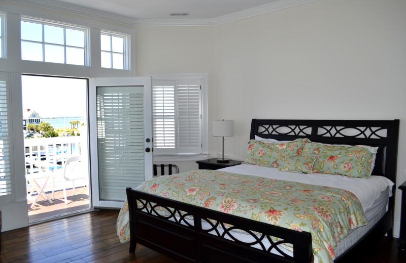Guest room at The Inn at Bald Head Island.