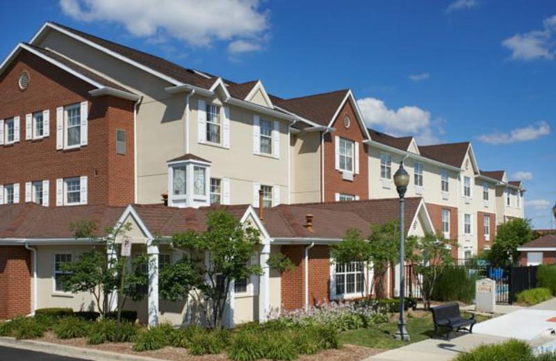 Exterior view of TownePlace Suites by Marriott Detroit Novi.
