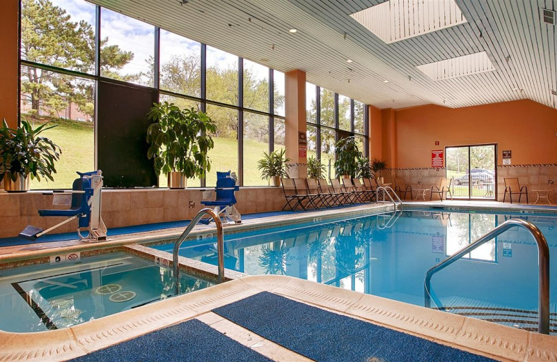Indoor pool at Best Western Plus Hotel