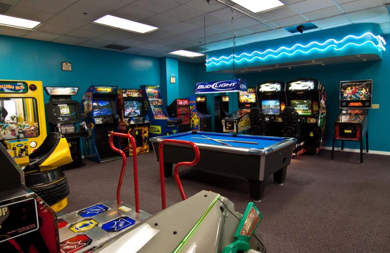 Video arcade at Clarion Inn Lake Buena Vista.