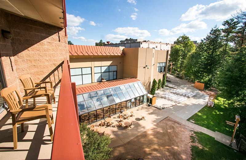 Balcony view at Chula Vista Resort.