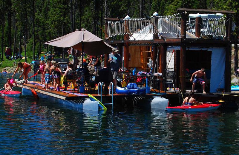 Reunions at Elk Lake Resort.