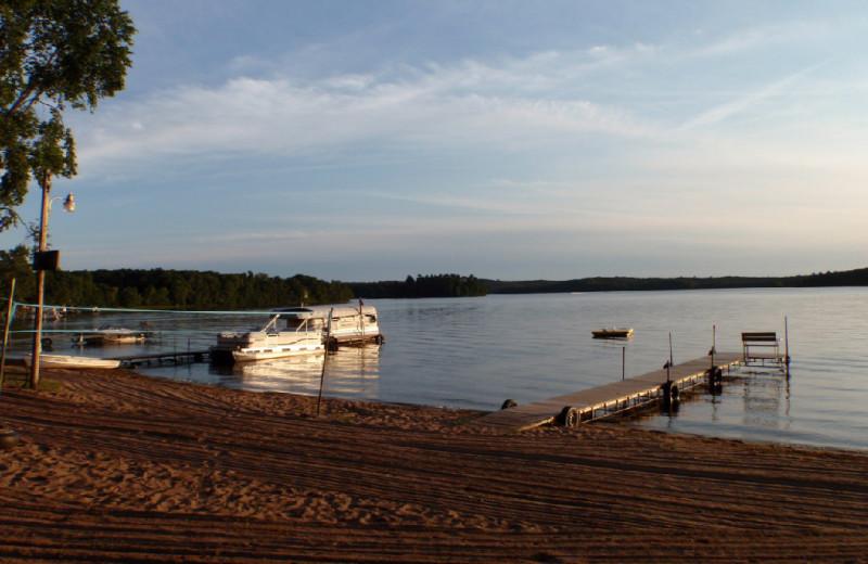 Lake view at Westwind Resort.