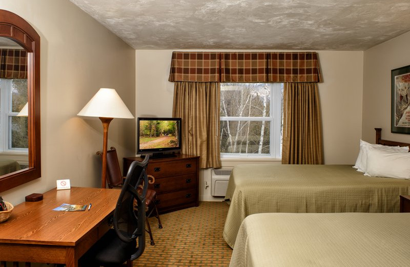 Double guest room at Silver Fox Inn.