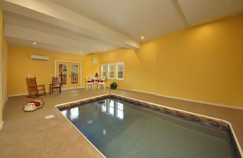 Rental pool at Smoky Mountains Vacation Cabins, LLC.