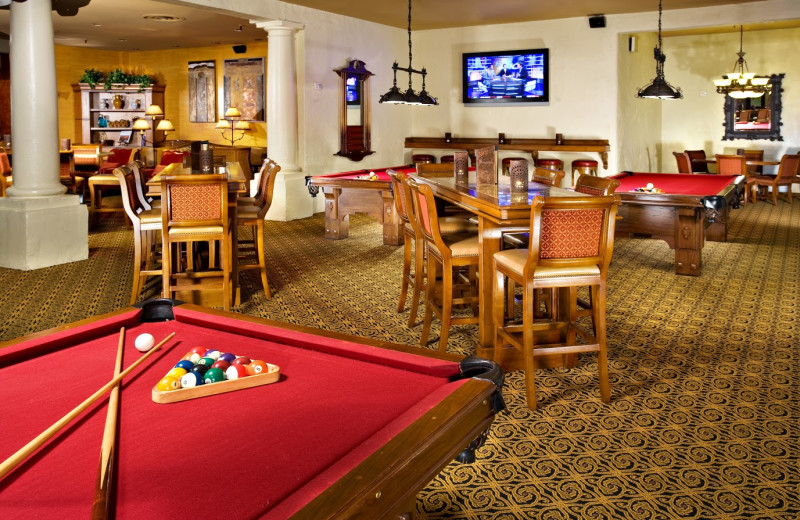 Sangria's Lounge & Billiards at Scottsdale Resort & Conference Center.