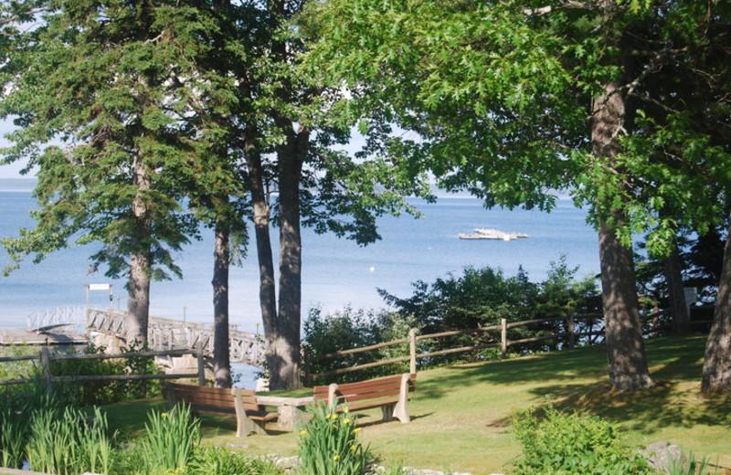 Ocean view at Atlantic Oceanside Hotel.