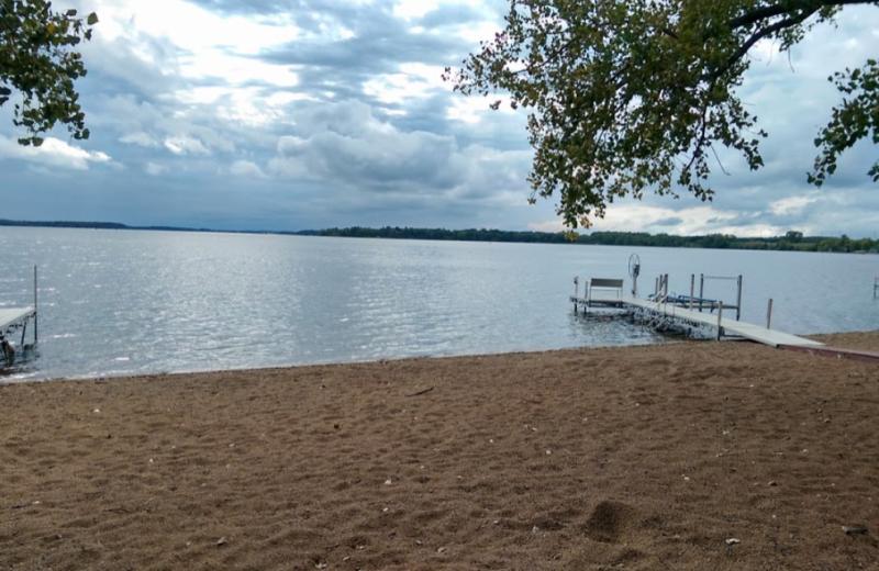 Lake view at Oak Park Resort.