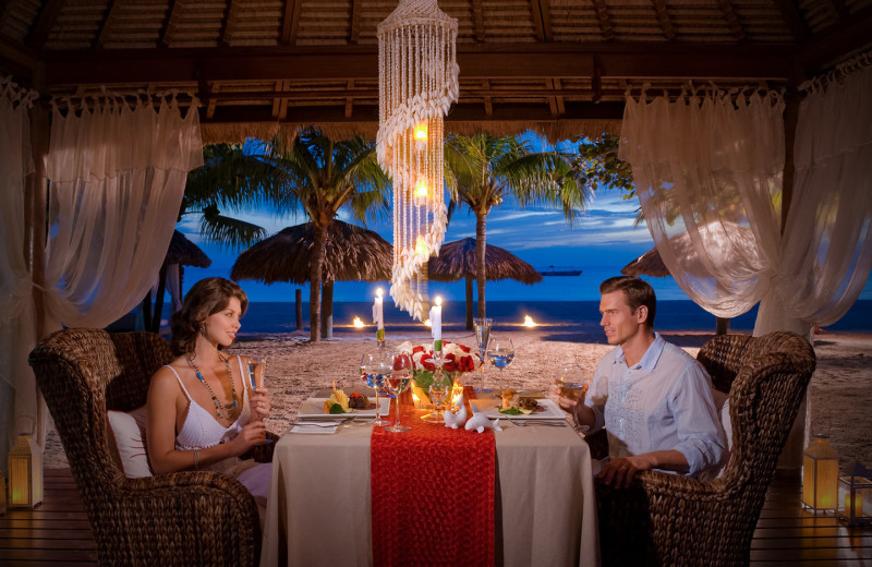 Dining at Beaches Negril.