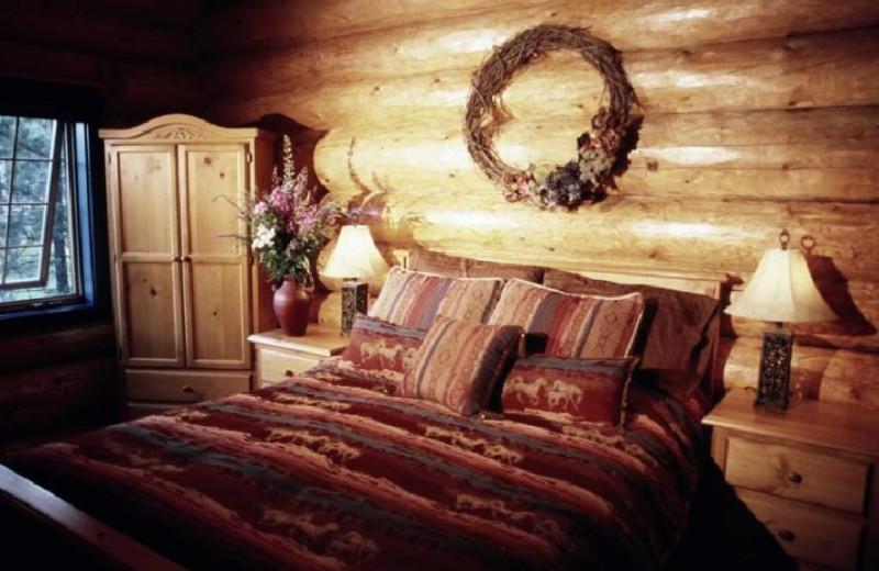 Ranch House Bedroom at Siwash Lake Ranch