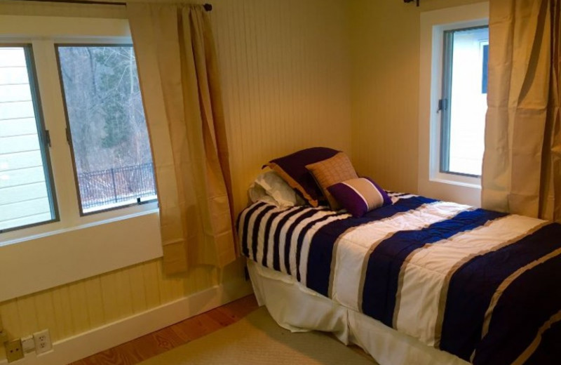 Guest room at Lake Michigan Reunion & Retreat.