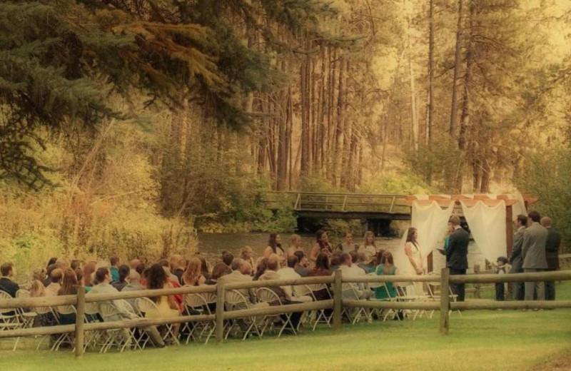 Wedding at Cold Springs Resort.