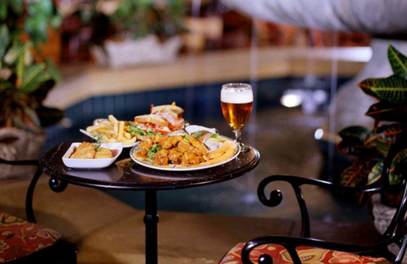 Food at Sheraton New Orleans Hotel