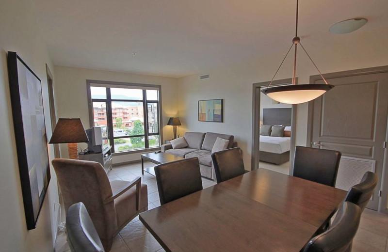 Guest suite at Playa Del Sol Resort.