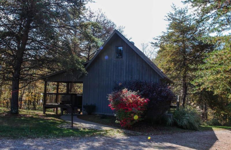 Exterior at Pine Cone.