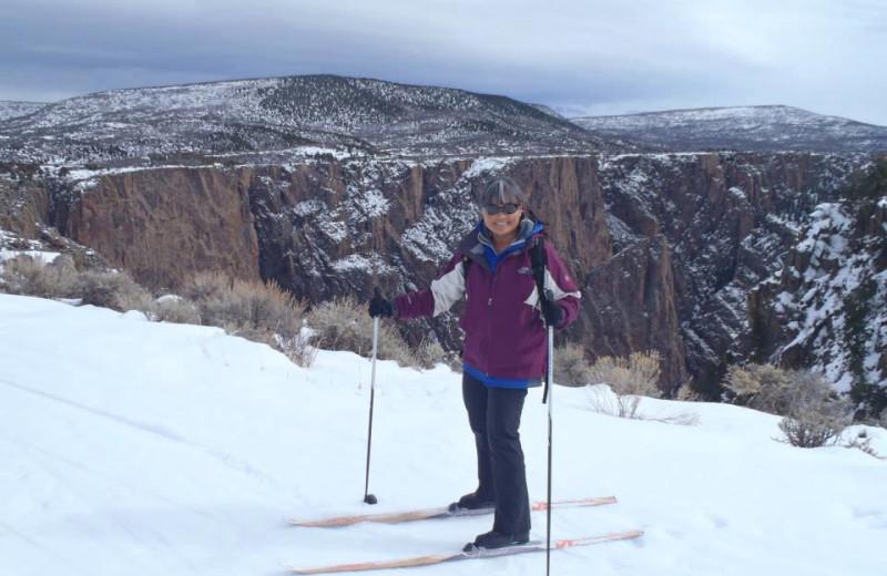 Skiing at Three Rivers Resort.