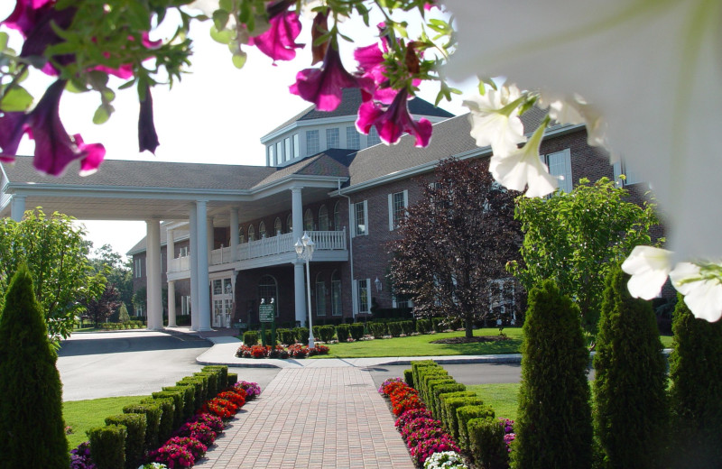 Exterior view of The Inn and Spa at East Wind.
