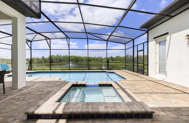 Rental pool at Balmoral Resort.