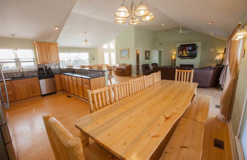 Rental interior at Sandbridge Realty.